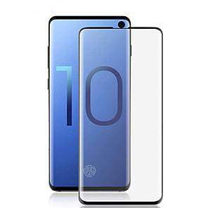 povoljno Samsung oprema-zaslon zaštitnik za samsung galaxy galaxy s10 / galaksija s10 plus / galaksija s10 e kaljeno staklo 1 kom prednji zaslon zaštitnik visoke razlučivosti (hd) / 9h tvrdoća / eksplozija dokaz