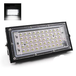 お買い得  LED ソーラーライト-2ピース50ワット完璧な電源ledフラッドライトフラッドライトled街路灯180-240v防水景観照明ip65 ledスポットライト
