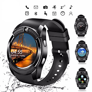 cheap Smart watches-V8S Smart Watch BT Fitness Tracker Support Notify/ SIM-card/ Heart Rate Monitor Sports Smartwatch Compatible Samsung/ Android/ Iphone