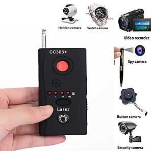 ieftine Testere & Detectoare-gamă completă anti-spy bug detector cc308 mini camera wireless ascuns semnal gsm dispozitiv detector de confidențialitate proteja de securitate