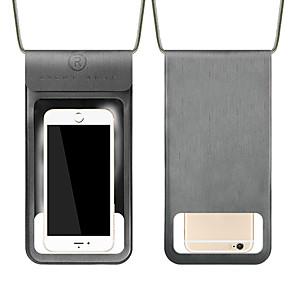 Недорогие Универсальные чехлы и сумочки-Кейс для Назначение Apple Универсальный Водонепроницаемый / Защита от пыли / Защита от влаги Водонепроницаемый мешочек Прозрачный Мягкий PVC
