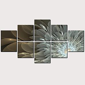 Trykk Valset lerretskunst - Abstrakt Klassisk Moderne Kunsttrykk