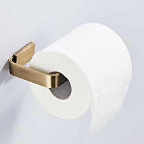ieftine Gadget Baie-Suport Hârtie Toaletă Model nou Antichizat / Țara Alamă 1 buc - Baie / Hotel baie Montaj Perete