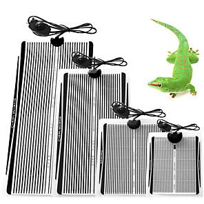 ieftine Accesorii Animale Mici-târâtoare încălzire broască țestoasă mat planșa de termostat rezistent la apa tampon de încălzire 5w putere în condiții de siguranță