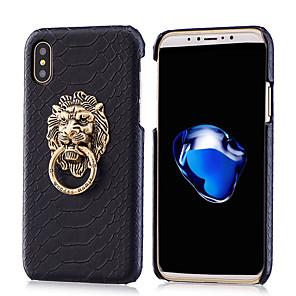 ieftine Inele-telefonul caz piele gel silicon cu metal leu cataramă suport pentru telefon pentru iphone7 / 7plus / 6 / 6s / 6 plus / 6s plus / 7 / 7s / 8 / 8plus / x / xs