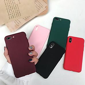 ราคาถูก เคสสำหรับ iPhone-Case สำหรับ Apple iPhone XS / iPhone XR / iPhone XS Max Frosted ปกหลัง สีพื้น Soft เจลซิลิก้า