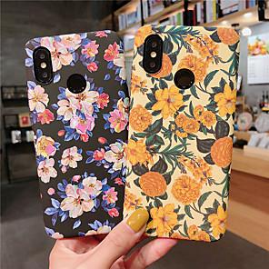 povoljno Maske/futrole za Xiaomi-Θήκη Za Xiaomi Xiaomi Redmi Note 5 Pro / Xiaomi Redmi Note 7 / Xiaomi Mi Max 3 Mutno / Uzorak Stražnja maska Cvijet Tvrdo PC