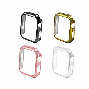 Недорогие Универсальные чехлы и сумочки-чехол для яблочных часов 44мм 40мм розовое золото iwatch защитная оболочка