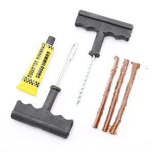 ieftine Invertor de Curent-6pcs / set auto profesionale auto anvelope de reparare kit auto biciclete auto anvelopă pneu anvelopă puncție plug reparații kit de instrument