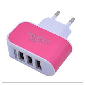 ieftine Mufă de încărcare-LITBest Încărcător Casă Încărcător USB Priză EU Normal 3 Porturi USB 3.1 A 100~240 V pentru