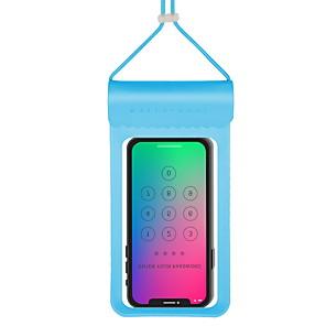 זול כיסויים / מכסים ל Xiaomi-מגן עבור אוניברסלי אוניברסלי עמיד במים פאוץ' עמיד במים אחיד רך TPU