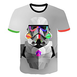 povoljno Maske/futrole za Galaxy A seriju-Majica s rukavima Muškarci - Osnovni Dnevno 3D Duga XL