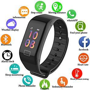 ieftine Smart Wristbands-um1 smart wristband bt fitness tracker support notificare / măsurarea tensiunii arteriale ceas sport inteligent pentru telefoane samsung / iphone / android
