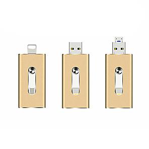 ieftine DisplayPort-litbest otg usb flash drive se aplică la Apple USB usb 3 în 1 metal u disc-32GB