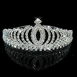 ieftine Bijuterii de Păr-Pentru femei Pentru Petrecere Petrecere / Seară Homecoming Royalty Zirconiu Cubic Argilă Aliaj Argintiu 1 buc