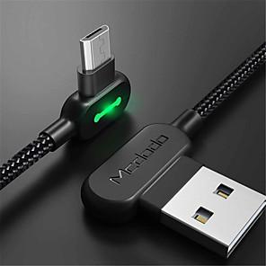 ieftine Android-Micro USB Cablu 1.8M (6ft) Împletit / Rapidă încărcare Nailon Adaptor pentru cablu USB Pentru Samsung / LG / Nokia