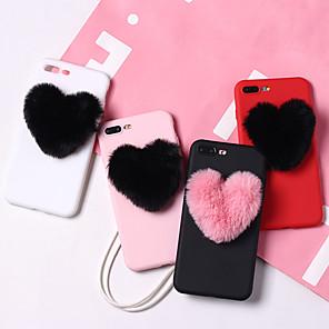 povoljno Zidni ukrasi-Θήκη Za Apple iPhone XS / iPhone XR / iPhone XS Max Otporno na trešnju / Protiv prašine / Vodootpornost Stražnja maska Srce Mekano TPU
