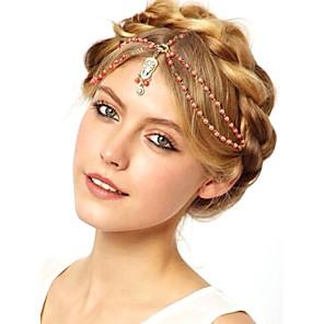 ieftine Bijuterii de Păr-Pentru femei femei Pentru Logodnă Festival Diamant sintetic Diamant Imitație de Perle Aliaj Roșu-aprins Alb 1 buc