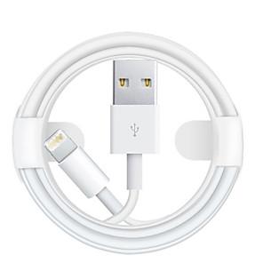 ieftine Organizatoare Birou-Iluminare Cablu 1.0m (3ft) Rapidă încărcare TPE Adaptor pentru cablu USB Pentru iPhone