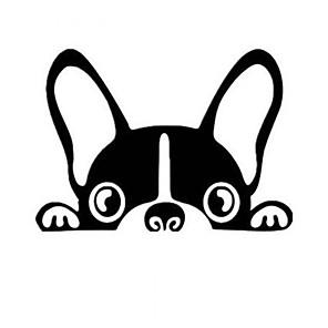 povoljno Ukrasne naljepnice-Crn Naljepnice za auto Crtići Naljepnice s punim automobilom Životinja Naljepnice