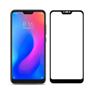 ราคาถูก เคสและซองสำหรับ Xiaomi-XIAOMIScreen ProtectorXiaomi Mi 8 Lite ความละเอียดสูง (HD) Front Screen Protector 1 ชิ้น กระจกไม่แตกละเอียด