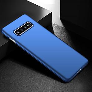ieftine Becuri De Mașină LED-anti-fingerprint ultra subțire și minimalist caz hard telefon pentru Samsung galaxy samsung s10 / galaxy s10 plus / galaxy s10 e / galaxy s10 5g