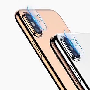Недорогие Защитные пленки для iPhone XR-Прозрачная пленка HD для iphone x / xs / xs max / xr / 7 / 7s plus / 8/8 plus протектор экрана объектива камеры из закаленного стекла
