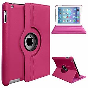 ieftine Carcase iPad-Maska Pentru Apple iPad Air Rotație 360 ° / Anti Praf / Cu Stand Carcasă Telefon Mată Greu PU piele / PC pentru iPad Air