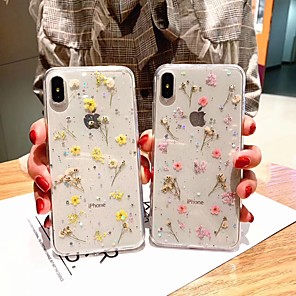"""cheap MacBook Air 13"""" cases-iPhone Case For XR XS Max goddess anti-fall fashion flower for Apple 8plus 7plus"""