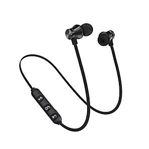 ieftine Cabluri de Adaptor AC & Curent-bluetooth 4.2 căști stereo pentru căști fără fir, magnetice pentru ureche pentru urechi