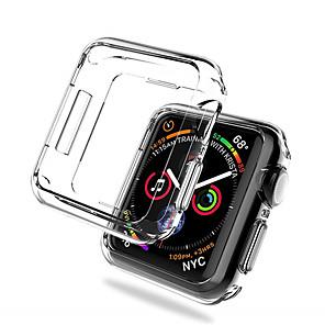 hesapli Smartwatch Kılıfları-2 paket yumuşak tpu ekran koruyucu kılıf apple watch serisi 4/3/2/1