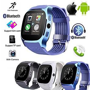 ieftine Ceasuri Smart2-t8s bluetooth ceas inteligent cu aparat de fotografiat facebook cesapp suport sim tf card smartwatch apel pentru telefonul Android