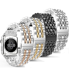 ieftine Câini Gulere, hamuri și Curelușe-smartwatch band pentru ceas de mere serie 4/3/2/1 șapte margele iwatch curea