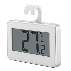 ieftine Testere & Detectoare-lcd ecran digital de precizie frigider termometru congelator frigider cu stativ reglabil magnet termometru digital rezistent la apa