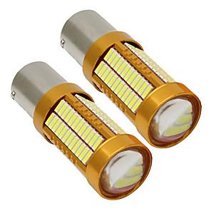 ieftine Becuri De Mașină LED-2pcs 1156 Mașină Becuri 15 W SMD 4014 900 lm 106 LED Bec Semnalizare / Lumini de frână / Luminile de inversare (de rezervă) Pentru Παγκόσμιο Toți Anii