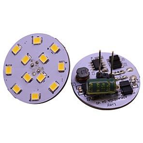 ieftine LED-uri-G4 / gu4 pin spate bi-pin bec led led 12v-24vac / dc 2835 smd 2w înlocuiește 20w becuri cu halogen alb cald alb pentru rv marine 4buc / lot
