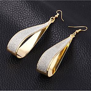 povoljno Naušnice-Žene Viseće naušnice Klasičan Stilski Jednostavan Naušnice Jewelry Zlato / Srebro Za Dnevno Rad 1 par