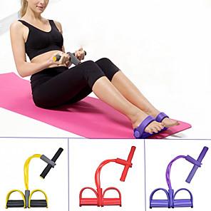ieftine Benzi Exerciții-Banda de rezistență a pedalei Sit-up Pull Rope 1 pcs Bagaj de mână Sport Acasă antrenament Yoga Pilates Forța de Formare Antrenament Muscular pentru Corp Fizioterapie întindere Pentru Pentru femei