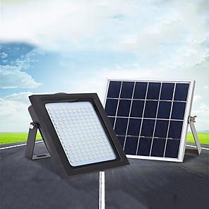 ieftine Aplice de Exterior-1 buc 18 W Proiectoare LED / Lumini de Exterior / Lumina soarelui Rezistent la apă / Solar / Controlul luminii Alb 5.5 V Lumina Exterior / Piscina / Curte 150 LED-uri de margele