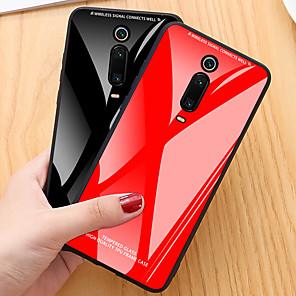 povoljno Maske/futrole za Xiaomi-Θήκη Za Xiaomi Xiaomi Mi 9T / Xiaomi Mi 9T Pro / Redmi K20 Pro Otporno na trešnju Stražnja maska Jednobojni TPU / Kaljeno staklo