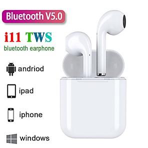 povoljno Pravi bežični uš-z-yeuy nove i11 tws slušalice bluetooth 5.0 binauralna podrška za podršku stereo zvuk automatsko uparivanje bežičnih slušalica