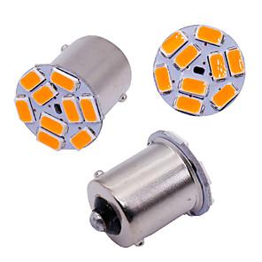 ieftine Car Signal Lights-10 buc auto s25 1156 ba15s p21w 5630 9 smd becuri pentru lampa auto lampa indicatoare de control lămpi semnalizare lampa frână alb 12v
