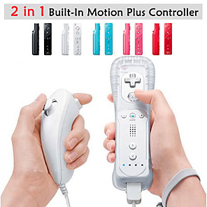 ieftine Accesorii Wii-Wireless Controller Joc Pentru Wii U / Wii . Wii MotionPlus Controller Joc MetalPistol / ABS 1 pcs unitate