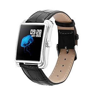 ieftine Audio & Video-v60s 1.3 impermeabil moda ceas inteligent ceas tensiometru memento vreme sport împinge muzică de control bratara banda de fitness