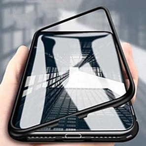 povoljno Maske/futrole za Xiaomi-Θήκη Za Xiaomi Xiaomi Redmi Note 7 / Xiaomi Redmi Note 7 Pro / Xiaomi Mi 9 Zaokret / Prozirno / S magnetom Korice Prozirno / Jednobojni Aluminij
