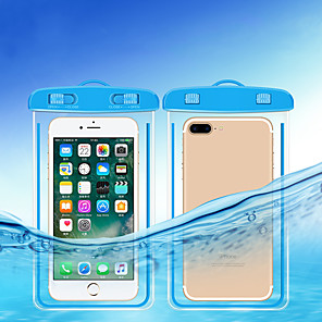 Недорогие Универсальные чехлы и сумочки-прозрачные сухие мешки водонепроницаемые мешки со светящимся подводным чехлом для телефона плавательные сумки для всех моделей 3,5 дюйма -6 дюймов