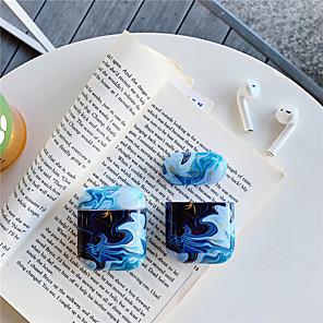 ieftine Colier la Modă-airpods caz PC greu solid culoare colorat model portabil pentru airpods1 airpods2 (caz de încărcare airpods nu sunt incluse)