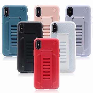ieftine Cârlige Pescuit-caz pentru iphone iphone 8 / iphone x inel de susținere capacul din spate de culoare solidă hard tpu pentru iphone 6 / iphone 6 plus / iphone 6s 7 8plus xs xr xsmax