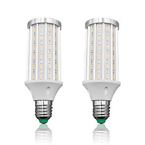 povoljno LED klipaste žarulje-loende 2 paket e27 vodio kukuruzno svjetlo 25w ac85-265v 90leds smd5730 2500lm led lampica bijela / topla bijela