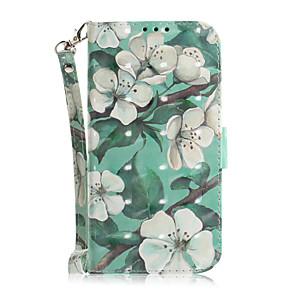 ieftine Carcase iPad-Maska Pentru Apple iPhone 11 / iPhone 11 Pro / iPhone 11 Pro Max Titluar Card / Anti Șoc / Model Carcasă Telefon Floare TPU